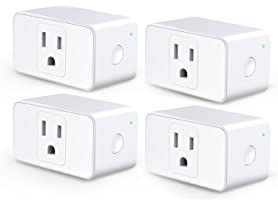 meross Wi-Fi Smart Plug Mini (4-Pack)