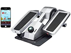 Cubii Pro Under Desk Elliptical, Chrome