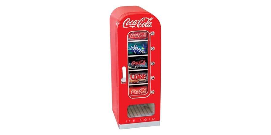 Coca cola retro 10 can vending fridge - Nevera coca cola retro ...