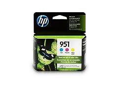 HP 951 Ink Cartridges 3 Colors