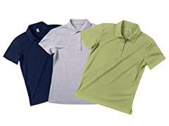 Zorrel Ladies 3-Pack Pique Polo