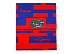 Florida Quilted Throw