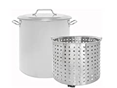 Concord 40 Qt Stainless Steel Stock Pot