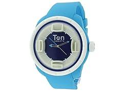 Ten Beats 3H Light Blue/ Blue Watch