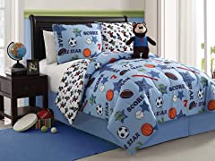 Reversible Bedding Set (Full) - Bear