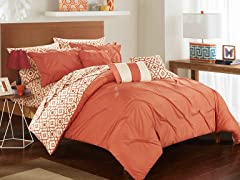 Chic Home 10-Piece Sabrina Comforter Set