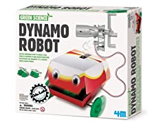 4M Green Science Dynamo Robot Kit
