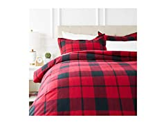 Everyday Flannel Duvet Cover Set