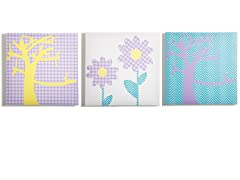 Sweets Canvas Print- Set of 3