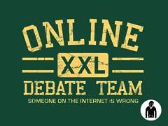 Online Debate Team Hoodie