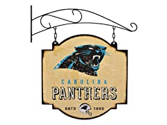 Carolina Panthers Vintage Tavern Sign
