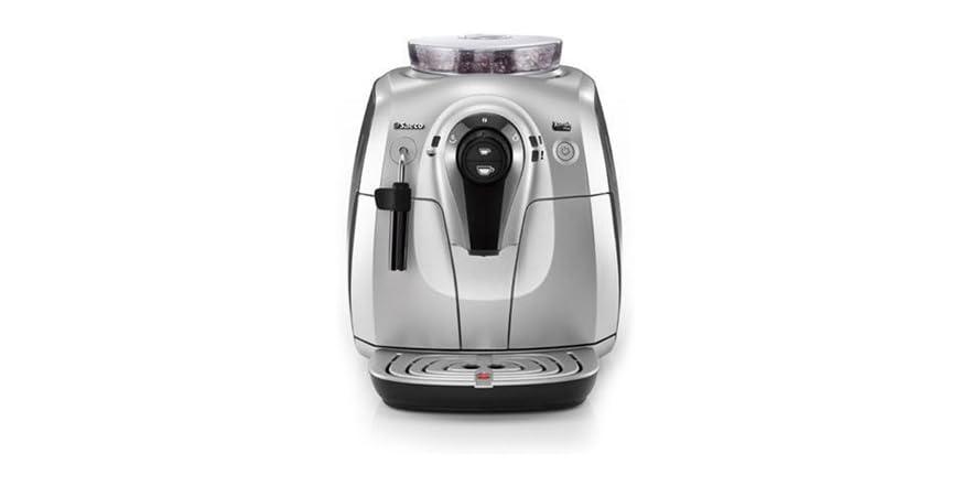 saeco xsmall superautomatic espresso machine