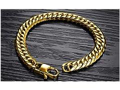 18K Gold Plated Miami Cuban Bracelet