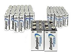 Energizer Lithium - AAP50/AAAP50/9VP6