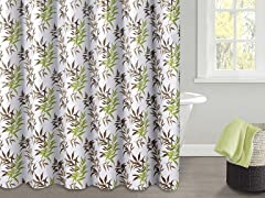 Sandy PEVA Shower Curtain