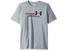 Under Armour Men's Split Branded Short Sleeve Athletic Shirt