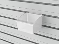 Flow Wall Small Hard Bins 5-Pack, Clear