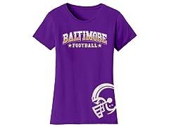 Women's Greatest Football Legends T-Shirts