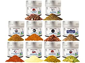 Gustus Vitae Spices Collection
