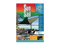 Easy Gardener Sun Sail Triangle Sun Shade