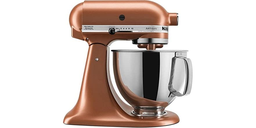 Kitchenaid 5 Quart Tilt Head Stand Mixer Copper Pearl