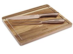 Cuisinart 3 Pc. Rose Gold Carving Set