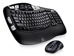 Logitech MK550 Wave Keyboard and Mouse