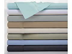 Bibb Home Antimicrobial 4 Piece Solid Sheet Set