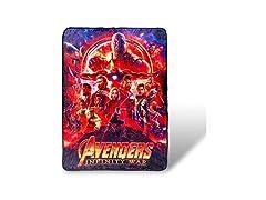 Avengers Infinity War Fleece Blanket
