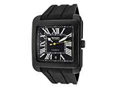 Men's Automatic Black Dial / Black Band