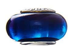 Blue Glass Bead