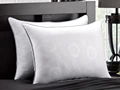 Exquisite Hotel Collection 2-Pack Fiber Filled Pillow