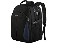 Matein Large Laptop Backpack, Blue
