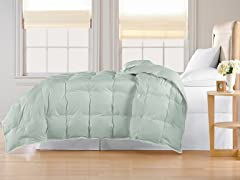 Down Alternative Comforter-Sage-3 Sizes