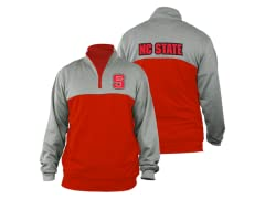 NC State Men's Polyfleece 1/4 Zip