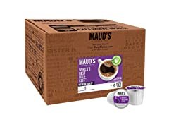 Mauds Half Caff Coffee 100 Count Pods