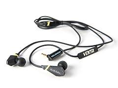 VEKTR In-Ear Headphones w/iOS Remote