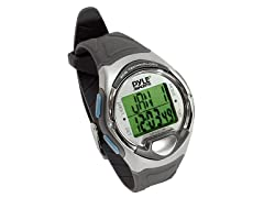 Finger-Touch Heart Rate Monitor Watch