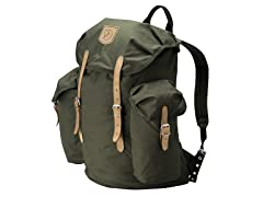 Vintage 30L Backpack- Dark Olive