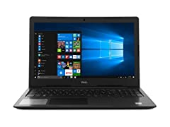 "Dell Inspiron 15.6"" Intel i3-8130U Touch Notebook"