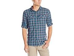 Silver Ridge Plaid Long Sleeve Shirt