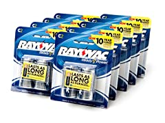 C Alkaline Batteries - 18 Pack