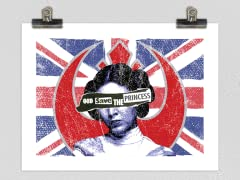 """Here Comes the Rebellion"" Matte Poster"