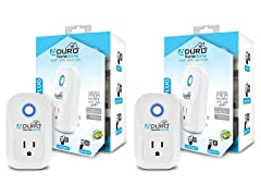 Aduro Wi-Fi Smart Plug Outlet (2-Pack)