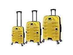 Travelers Club 3-Piece Hardside Luggage
