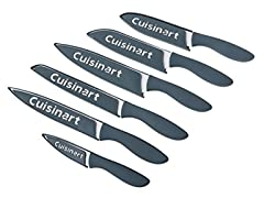 Cuisinart 12Pc Ceramic Coated Knife Set