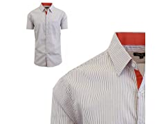 GBH Men's Patterened Dress Shirt