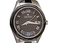 Men's Croton Pro Diver Two-Tone Stainless Watch