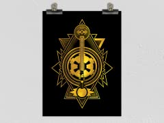 """Emblem of the Empire"" Matte Poster"