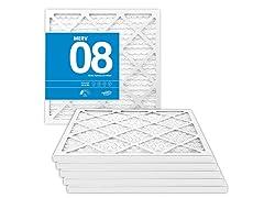 MervFilters MERV 8 AC Furnace Filters (6-Pack)